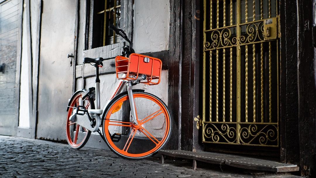 orange BMX