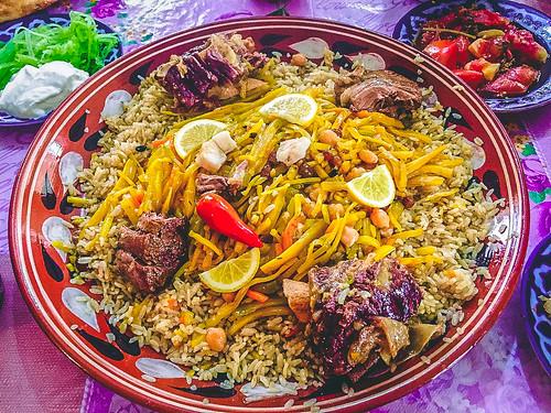 料理 ウズベキスタン ウズベキスタンの料理(食事)