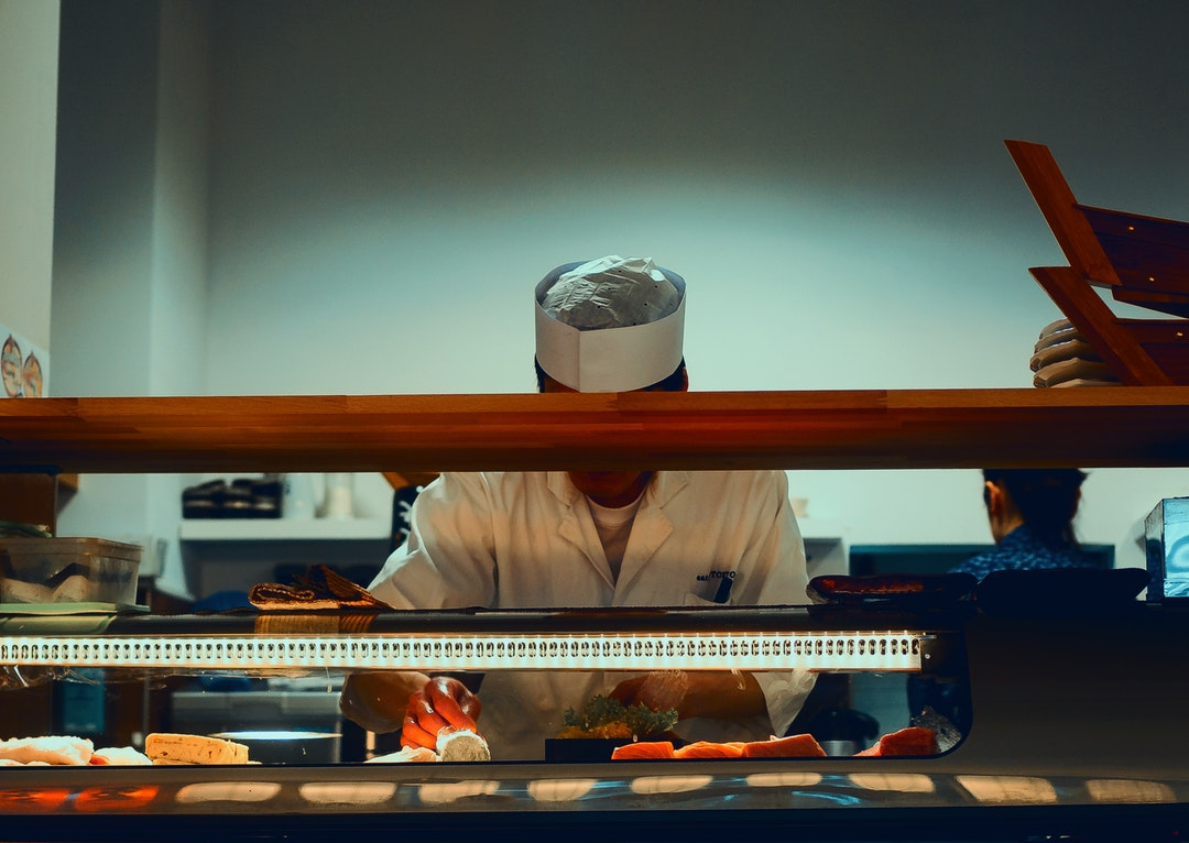 Japanese food cook