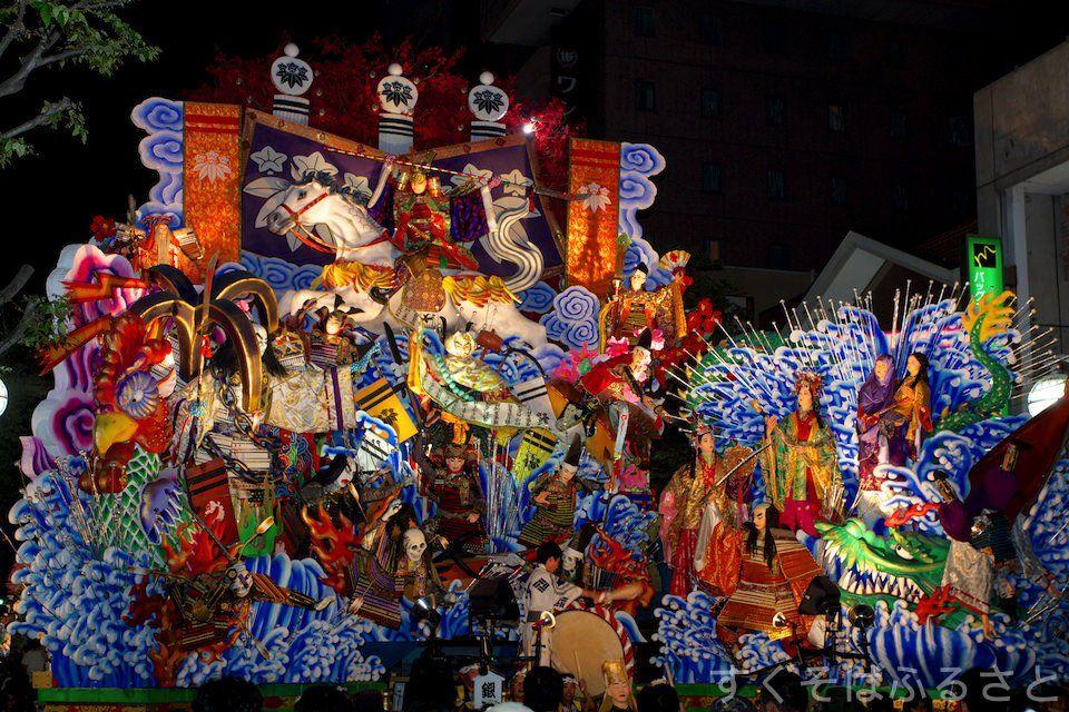 『八戸三社大祭』2017の日程は?山車観覧のおすすめ!前夜祭も注目!