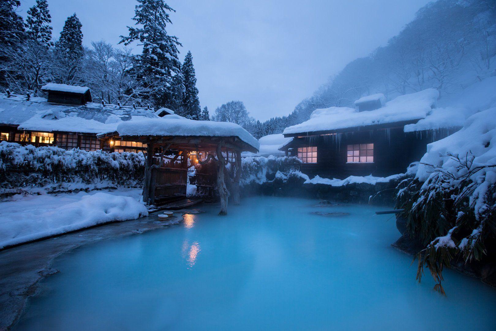 秋田県の温泉おすすめランキング・トップ15!宿や日帰りの人気を厳選!