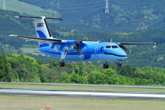 天草空港の天草エアラインの飛行機が可愛い!福岡や大阪への予約方法は?
