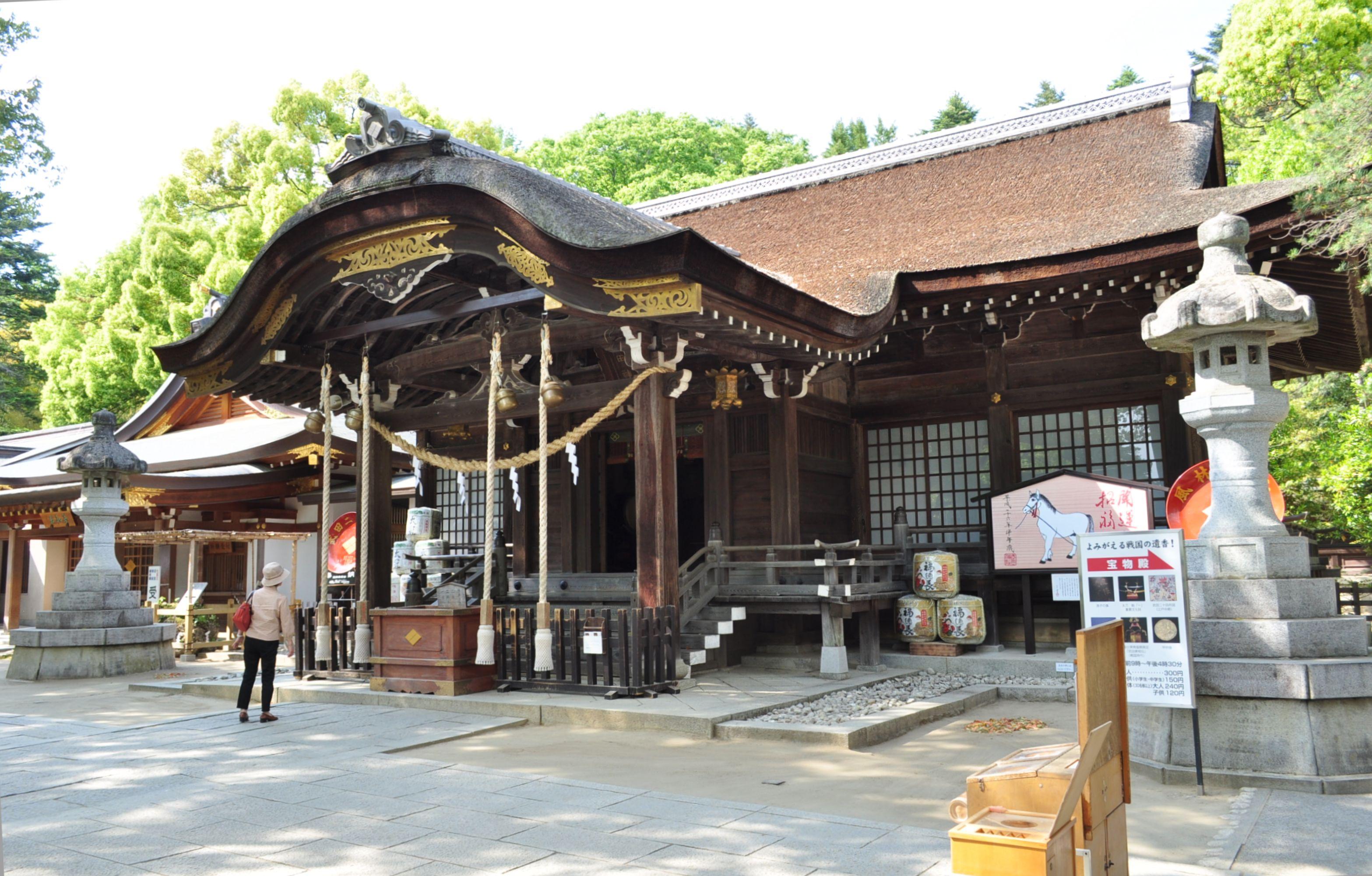 武田神社に行って御朱印集め!アクセスは?武田信玄ゆかりの地!
