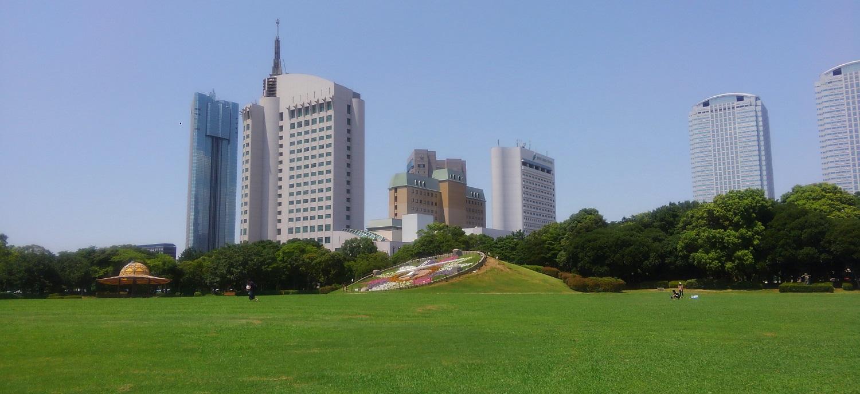 幕張海浜公園のアクセスや駐車場情報!日本庭園や茶室なども!