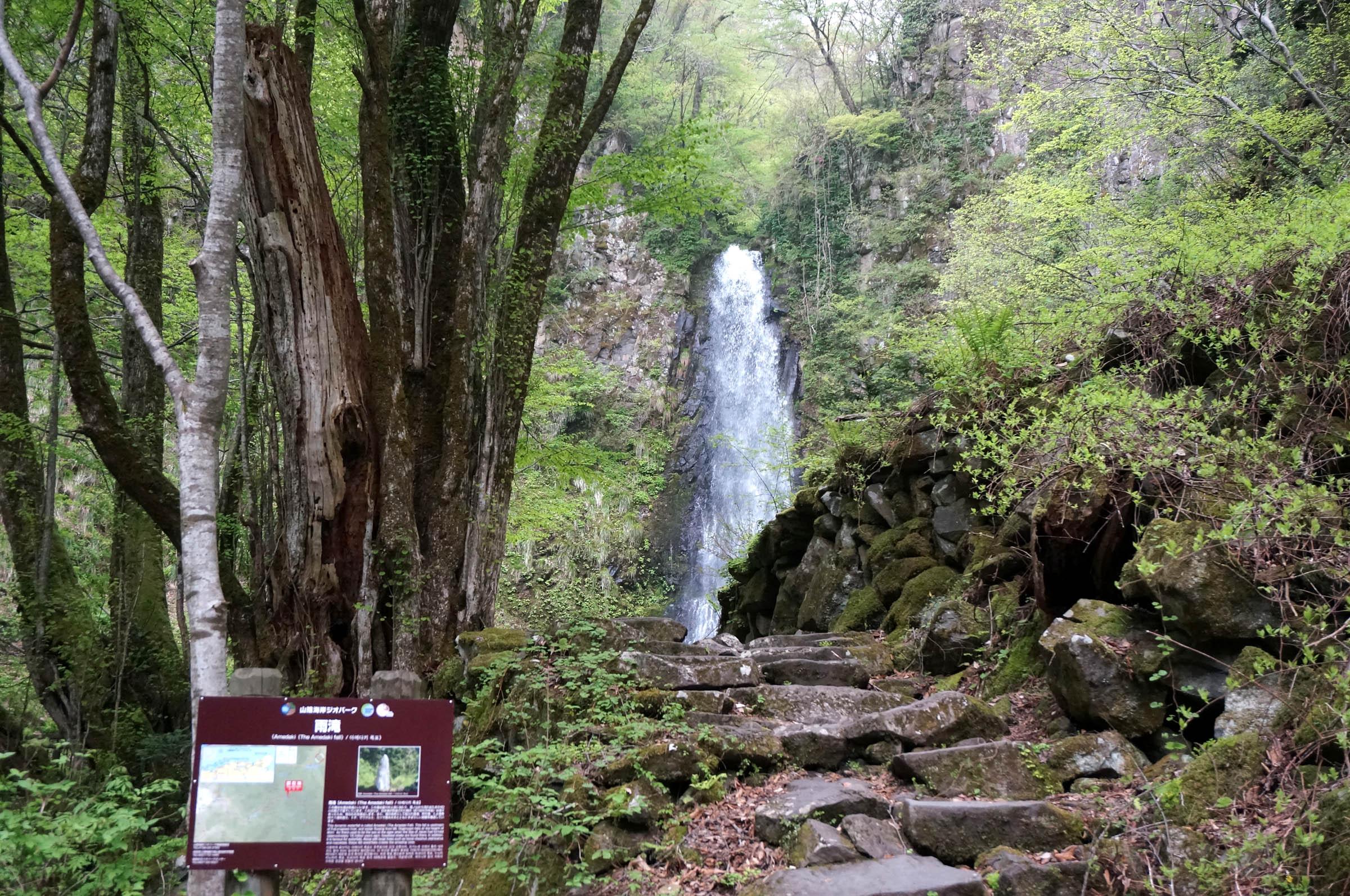 鳥取の雨滝は滝百景!絶景スポットとして人気!周辺のおいしい豆腐もご紹介!