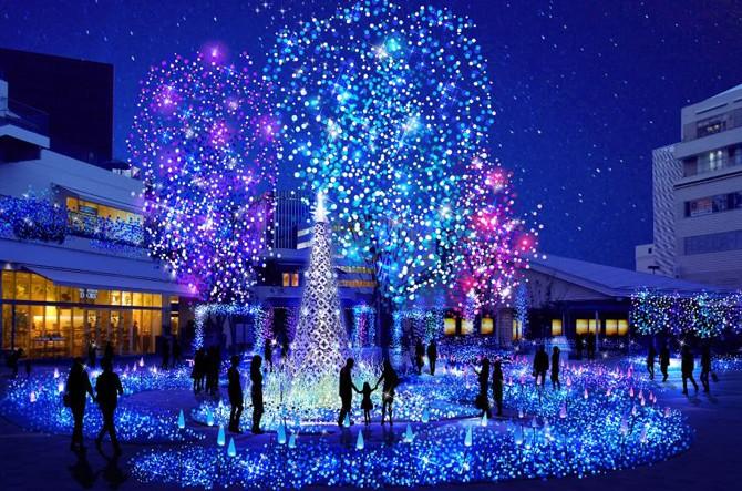 神奈川のイルミネーションのおすすめスポットや穴場を紹介!