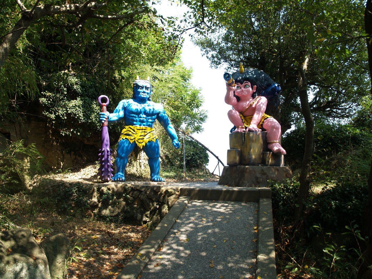 女木島観光はフェリーで!桃太郎伝説あり!鬼が島洞窟・海水浴のアクセスは?
