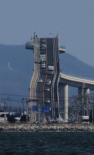 江島大橋はCMで話題の観光スポット!撮影ポイントはどこがおすすめ?勾配は?