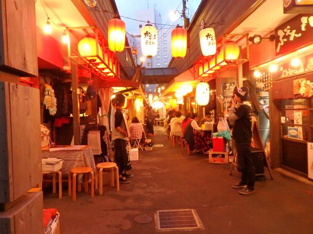 鹿児島の屋台村で楽しもう!営業時間やおすすめ店紹介!村コンも人気!