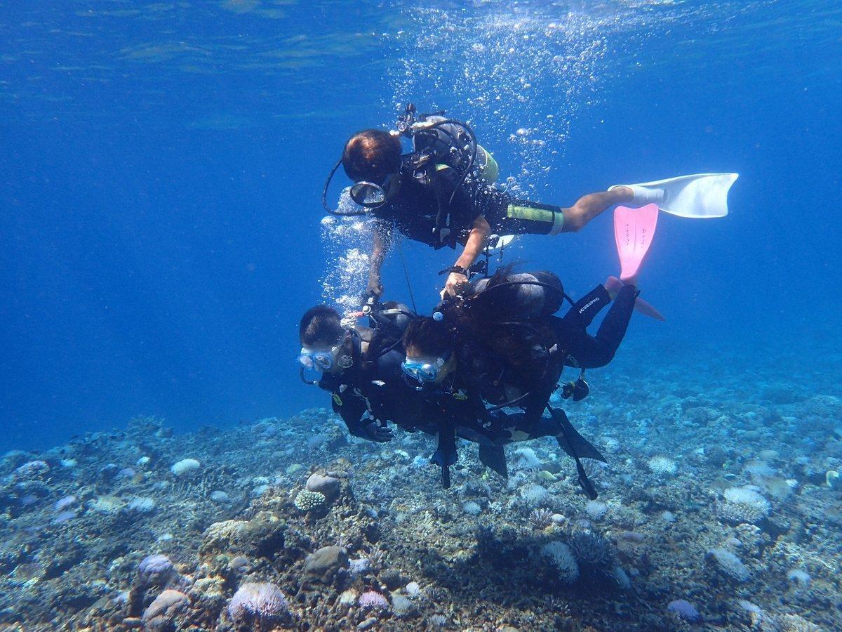沖縄で体験ダイビング!おすすめのスポットで初心者でも安心!