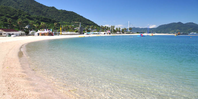 瀬戸田サンセットビーチはキャンプや釣りも楽しめる!アクセス・海開きの時期は?
