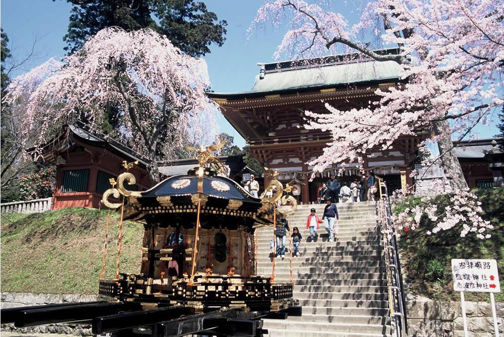 鹽竈(塩竈)神社はパワースポット!塩竈桜が有名な神社を徹底解説!
