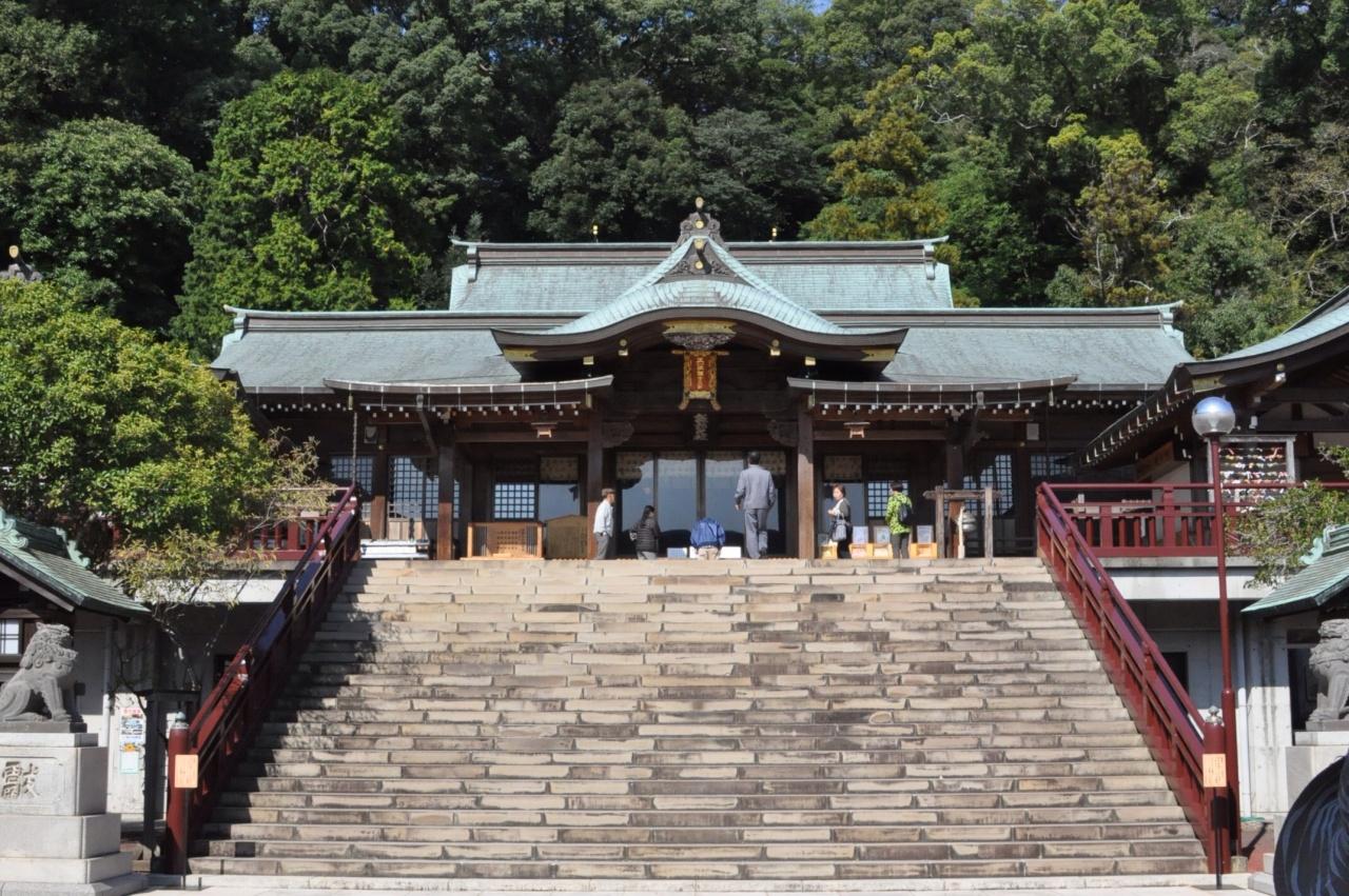 長崎の諏訪神社はパワースポットとして有名!厄払いの後は御朱印と月見茶屋で!