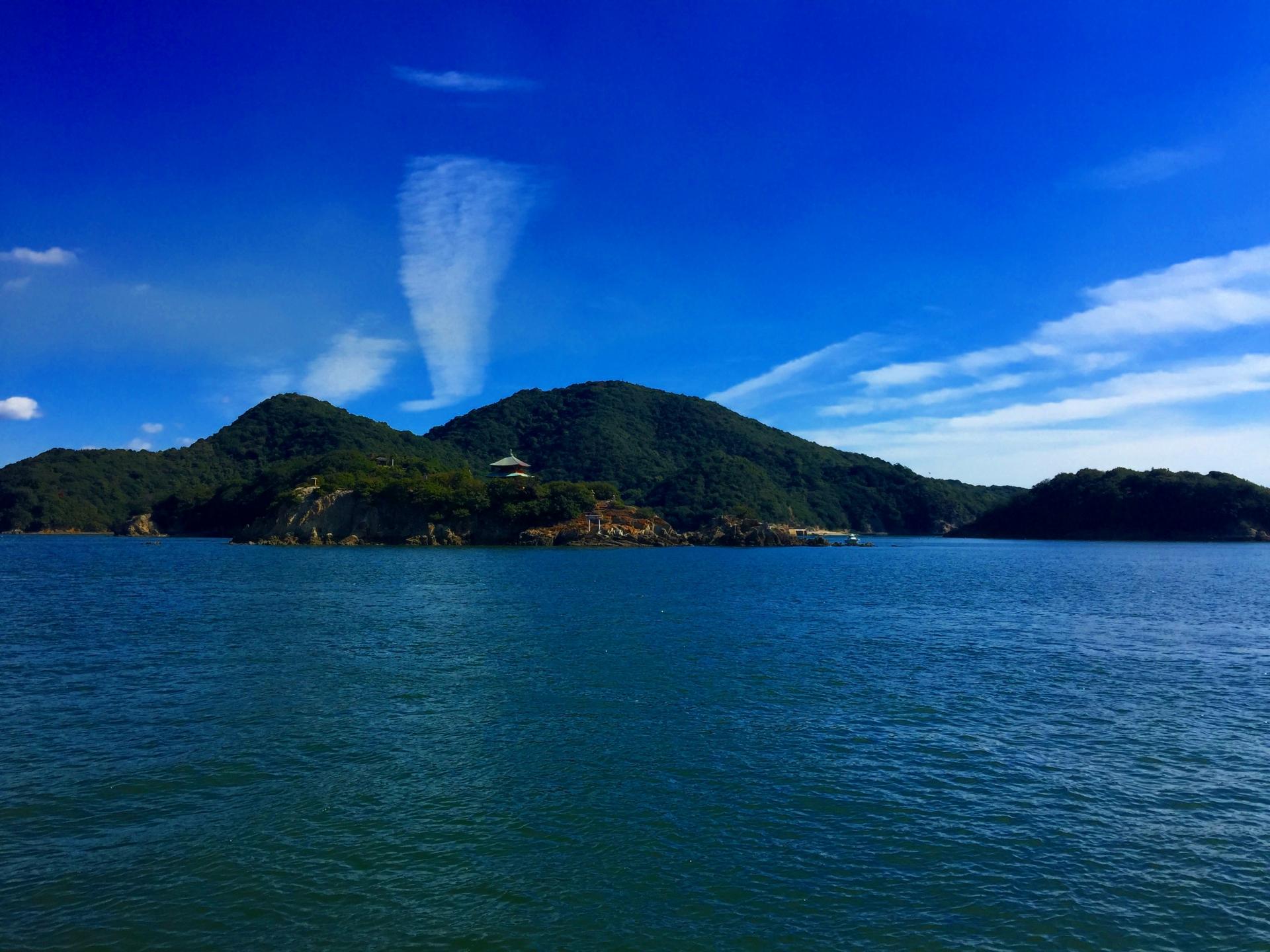 仙酔島はパワースポットと話題の観光地!江戸風呂などの温泉も!