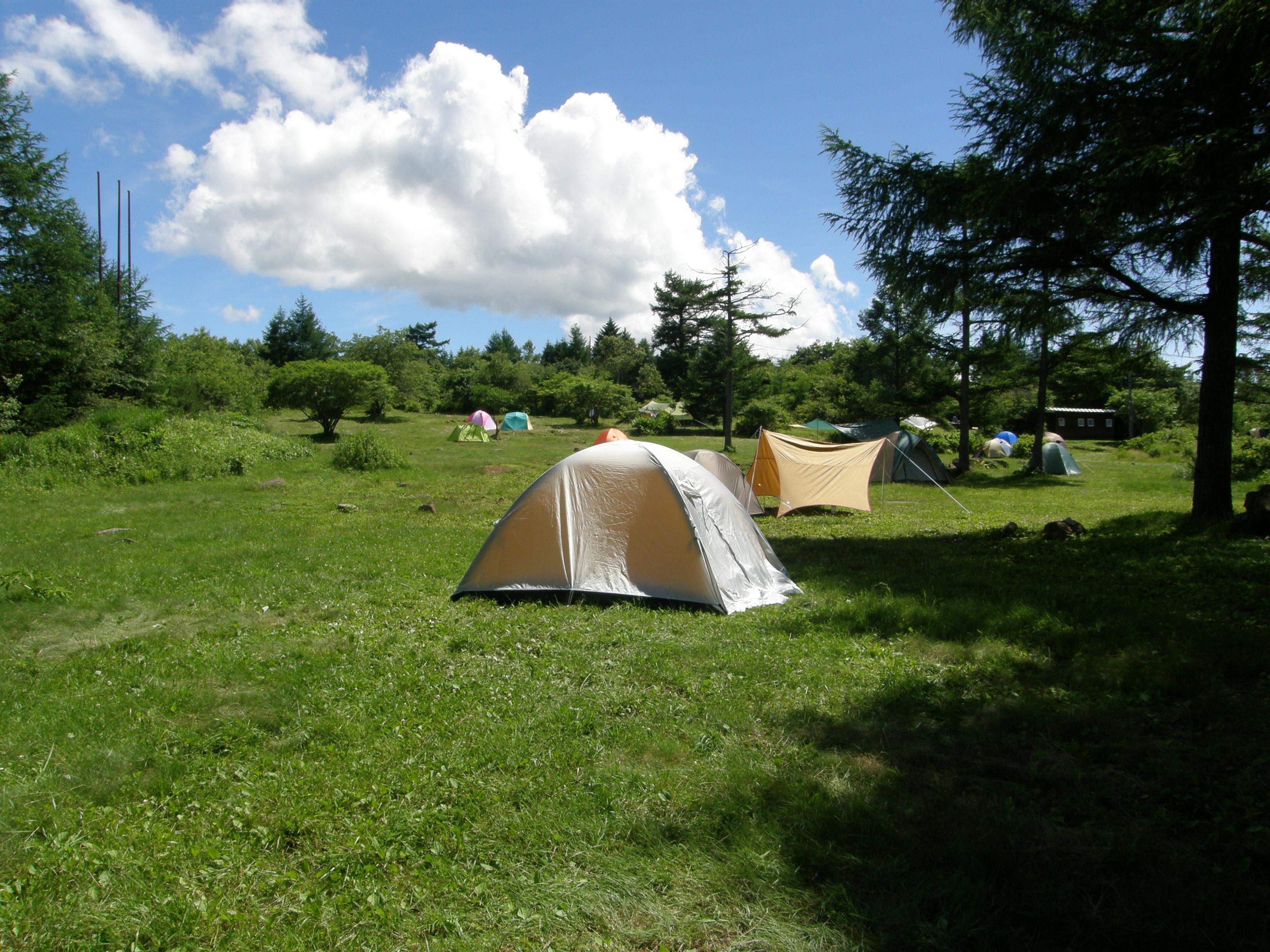 霧ヶ峰キャンプ場の楽しみ方!家族連れも安心の必需品やアクセス情報も紹介