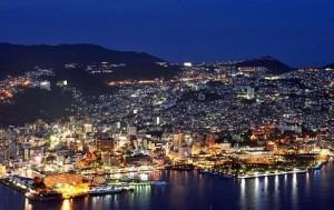 長崎・稲佐山の展望台からの夜景がすごい!カップルはハートストーンを!