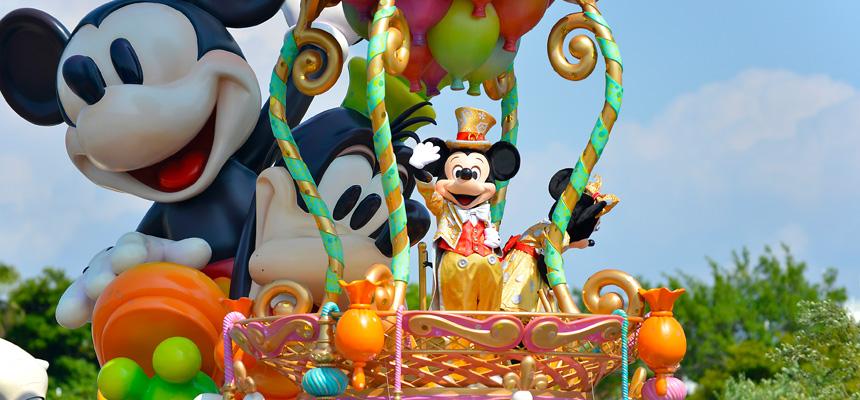 東京ディズニーランドのパレード鑑賞のおすすめの場所は?ルートや時間も紹介