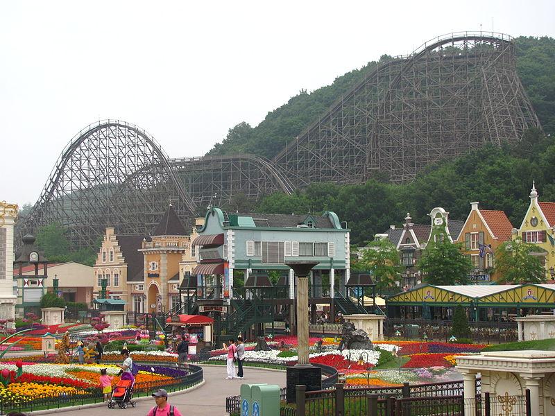 エバーランドを遊びつくそう!韓国の遊園地!チケットの料金はいくら?
