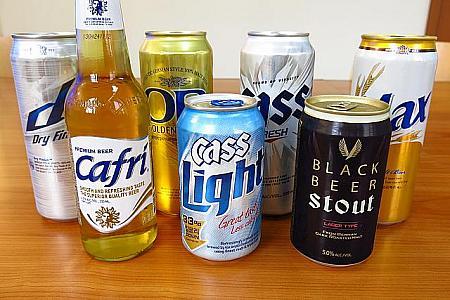 韓国のビール特集!まずいとの噂は本当?その種類や値段は?
