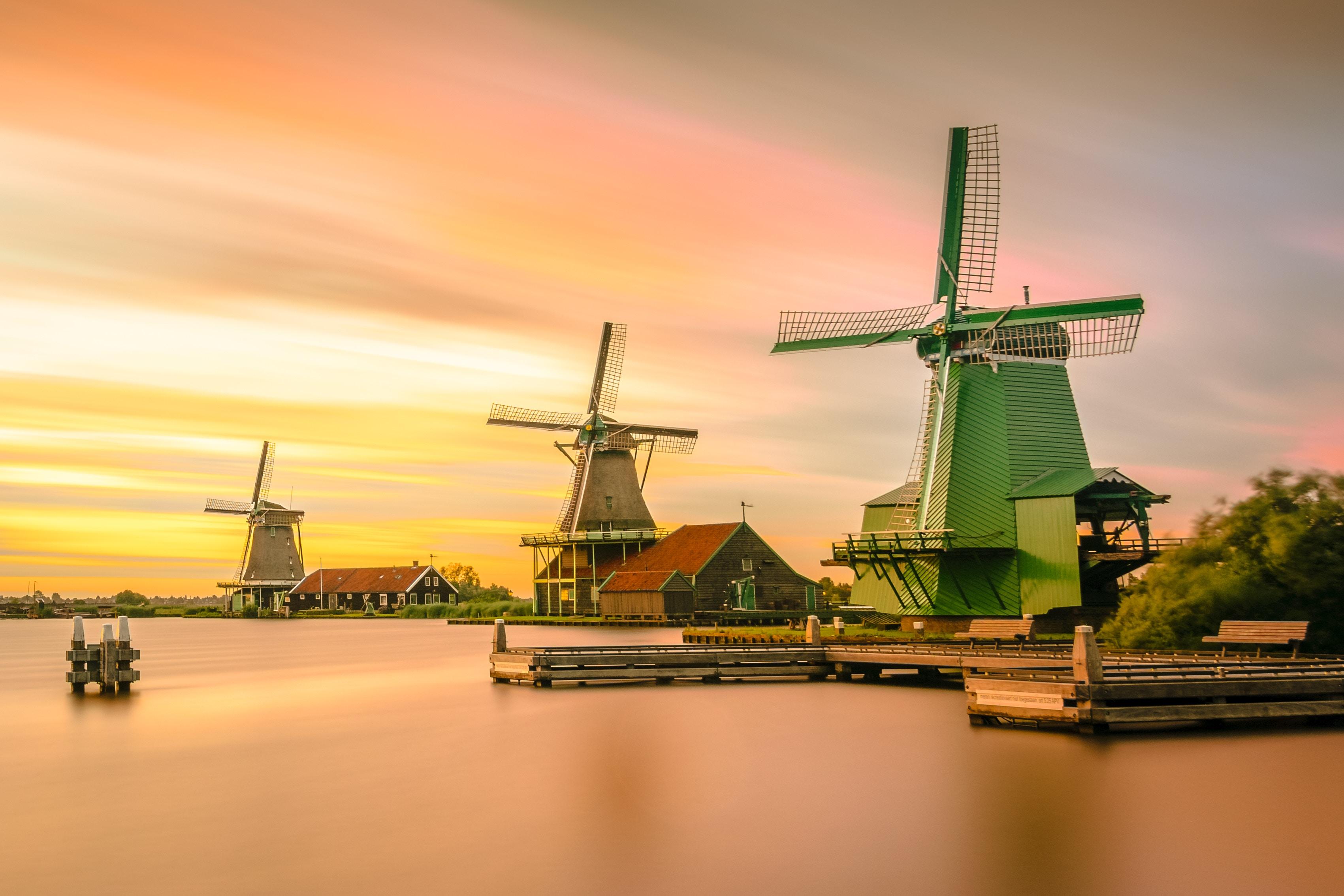 オランダの風車は世界遺産!原風景キンデルダイクの魅力を解説!