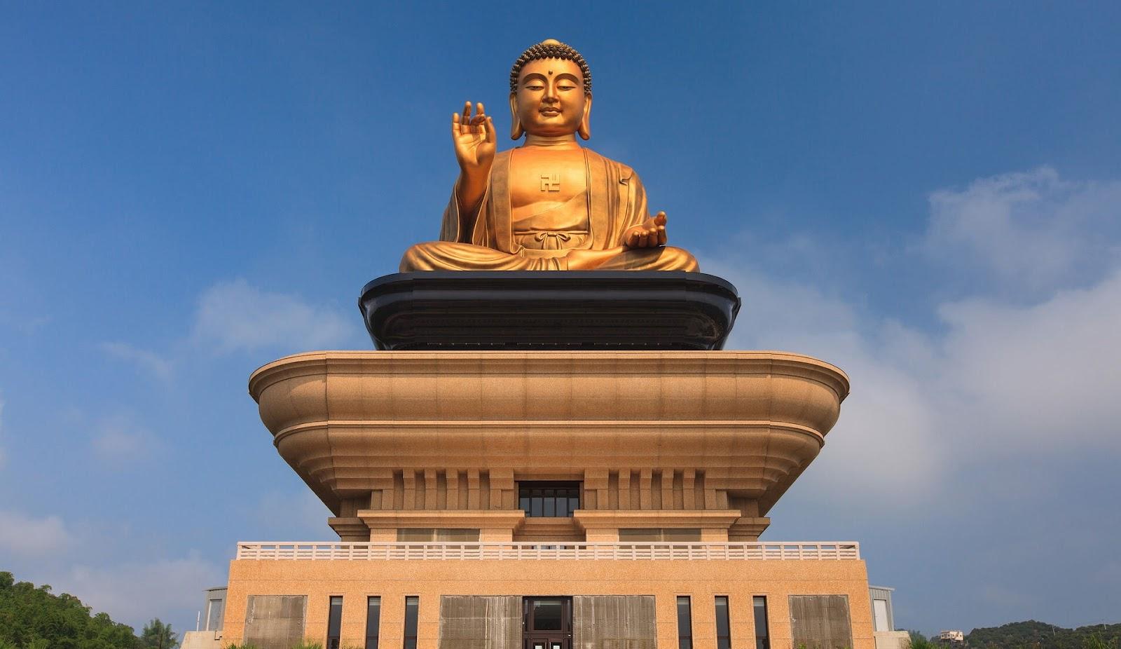 佛光山で佛陀紀念館を見学!台湾仏教の聖地で大仏様を拝む!