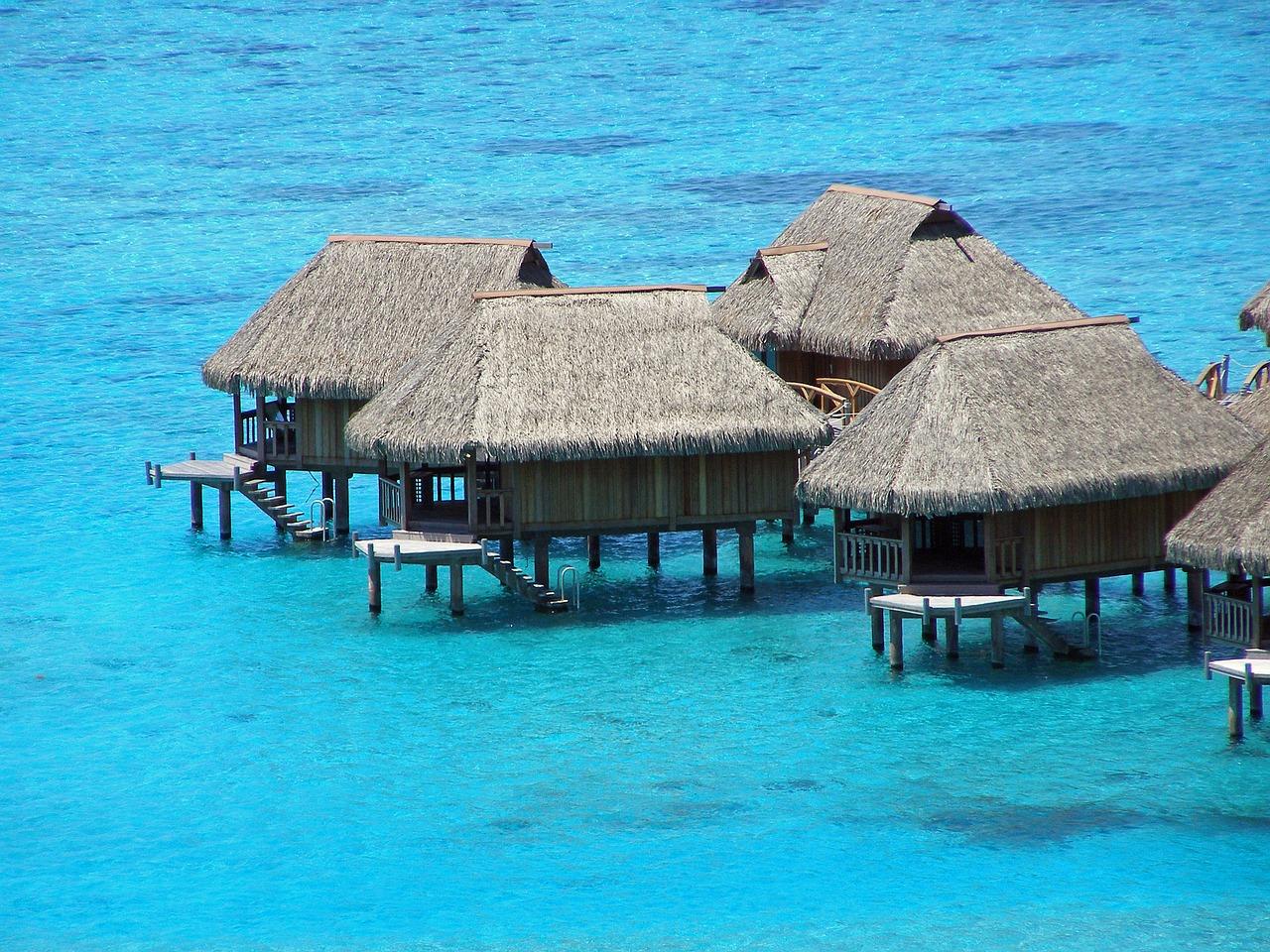 水上コテージはまさに楽園!海外のおすすめのスポットや行き方を紹介!