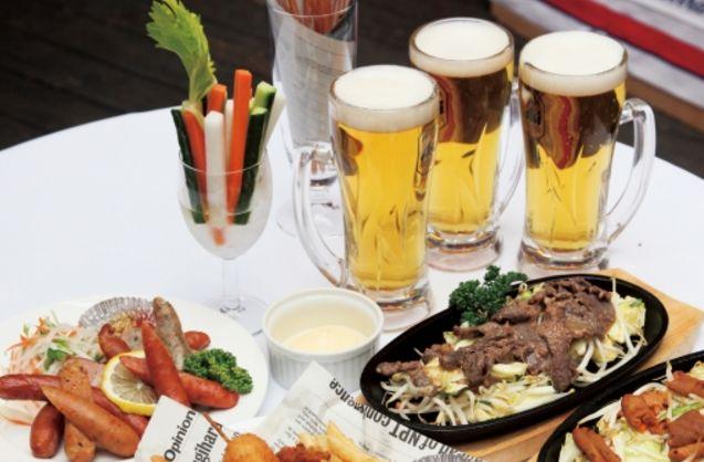 ビアガーデンは横浜で涼しく!おすすめの夜景のや焼肉・飲み放題などをご紹介