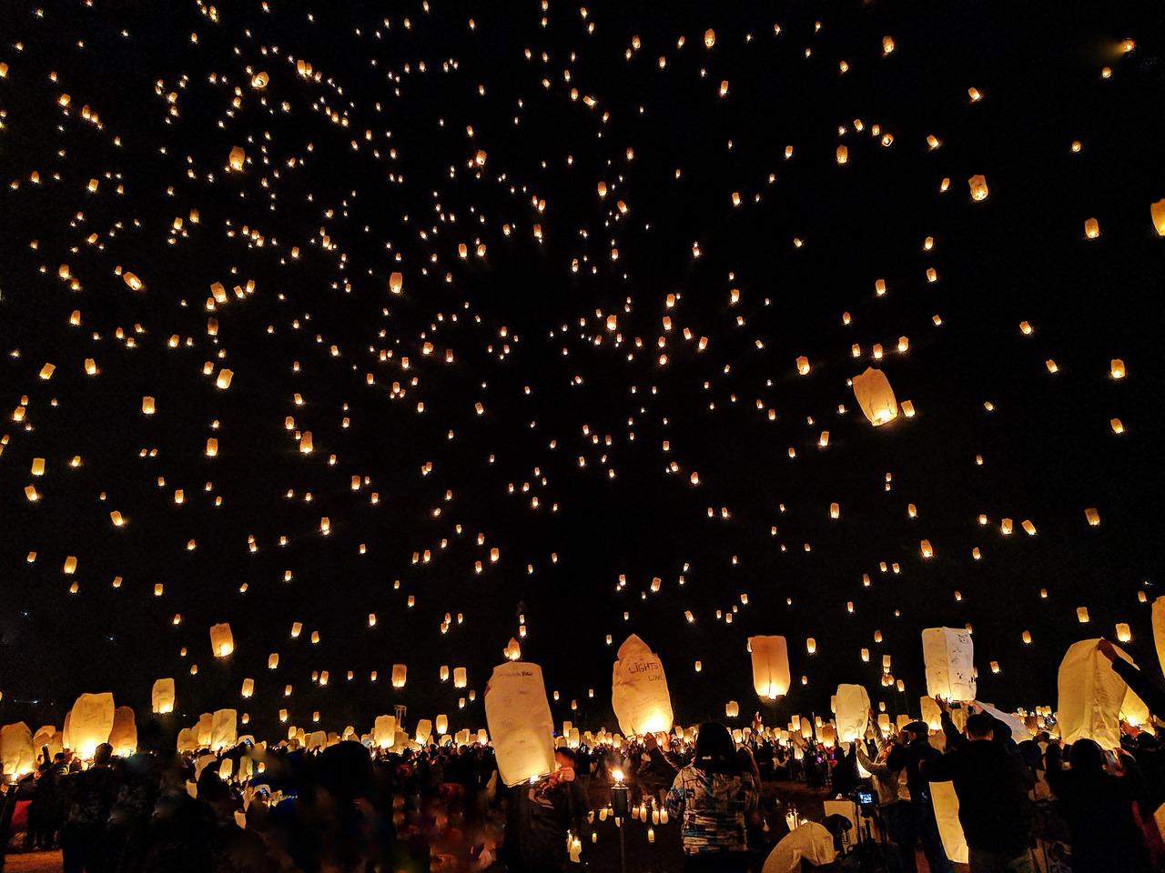 台湾のランタン祭りは見もの!旧正月行事平渓天燈祭の日程や場所は?