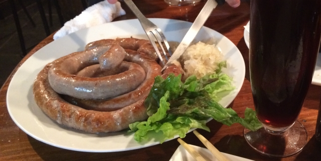 ドイツ料理の東京のおすすめ店!安いランチは人気!地ビールにソーセージも!