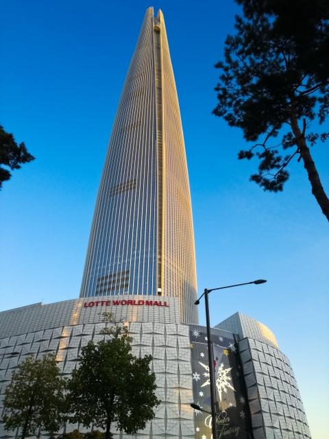 ロッテワールドタワーは韓国の超高層ビル!展望台の料金や見どころを紹介