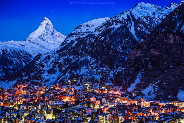 ツェルマット観光の魅力とは?スキー場やレストランなど山岳リゾートを調査!