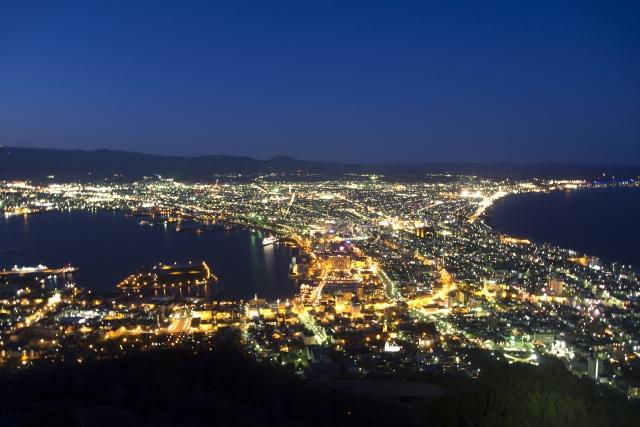 函館山の夜景を楽しもう!ロープウェイやバスの完全攻略法まとめ!