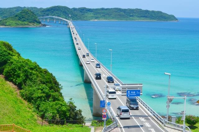 山口県の角島大橋は絶景!観光やデートにおすすめのスポットをご紹介!