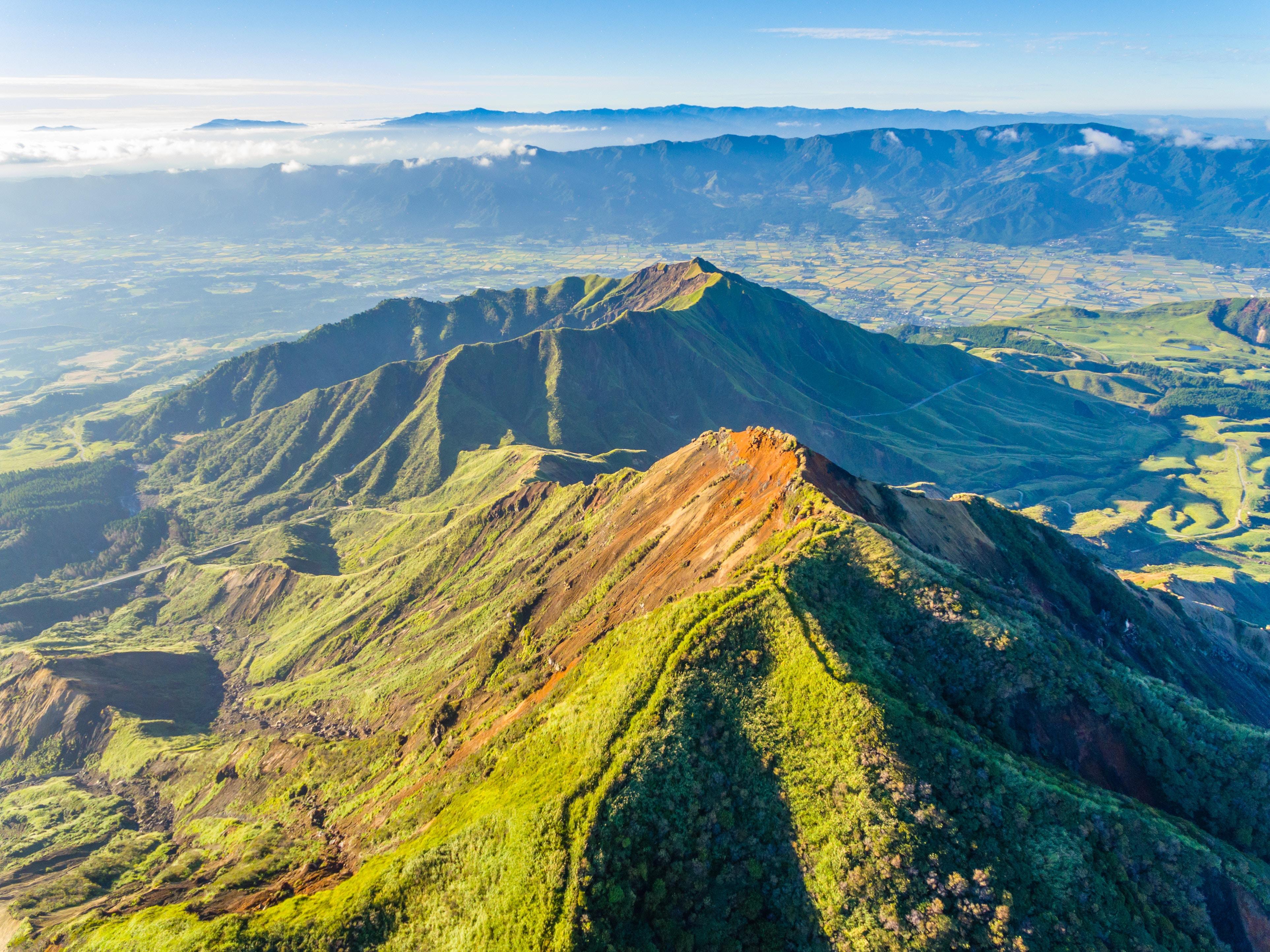 蓬莱山の登山ルートを紹介!絶景スポットへはロープウェイもおすすめ