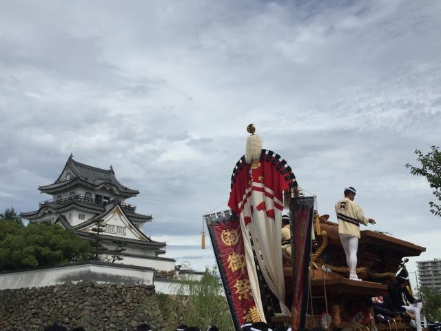 岸和田だんじり祭り2018の日程や見どころは?屋台やアクセス方法なども紹介