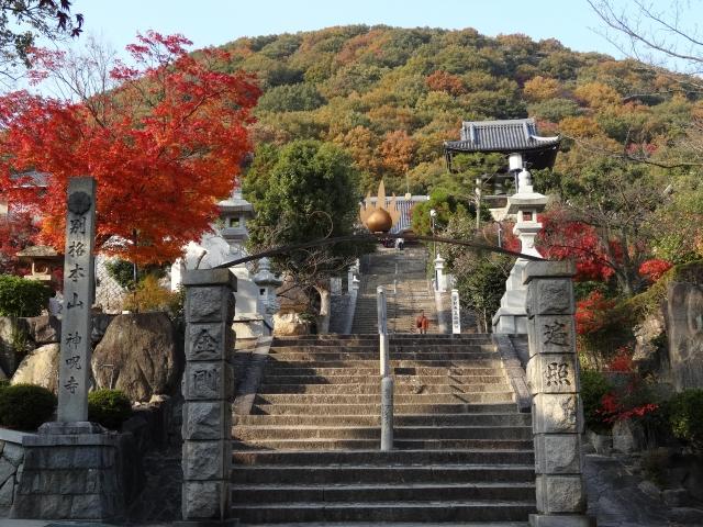 神呪寺は見晴らしも抜群のスポット!ご利益・御朱印やアクセスなどもチェック