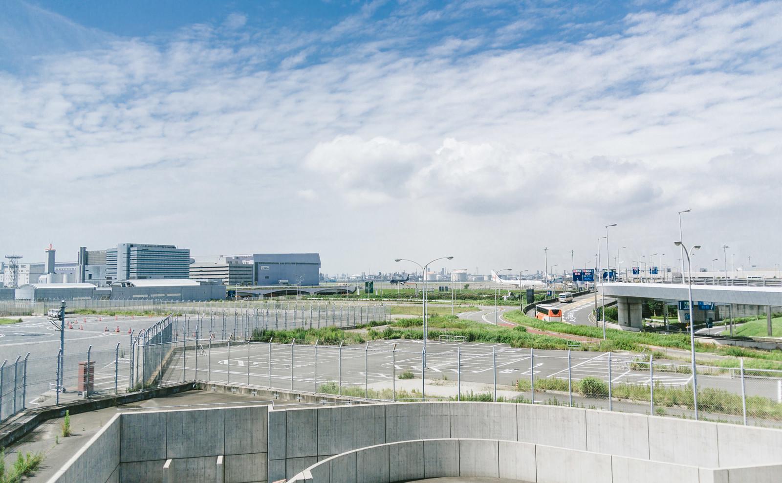 空港 駐 状況 羽田 車場 空き