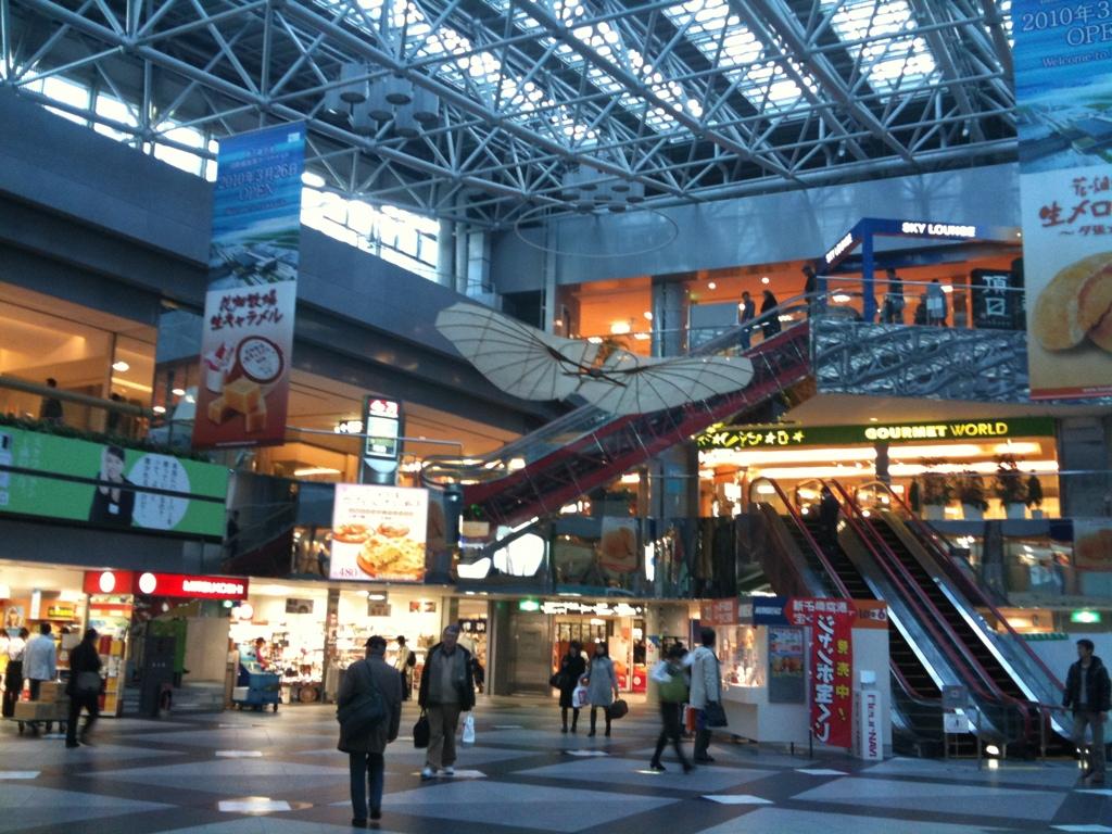 新千歳空港を観光しよう!ミュージアムや温泉にショップ街など見所が満載!