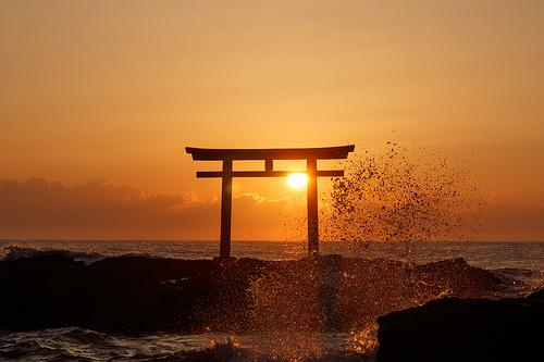 海中鳥居(佐賀)の満潮時が絶景すぎる!大魚神社のアクセスも紹介!