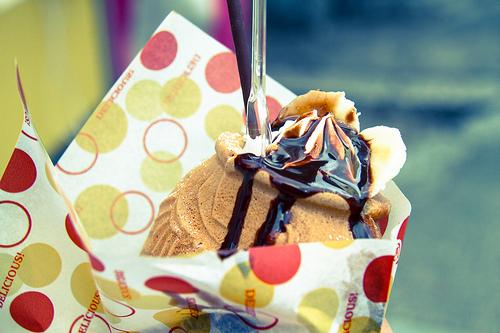 「たい焼きパフェ」がTwitterで美味しそうと話題!おすすめ店も紹介!