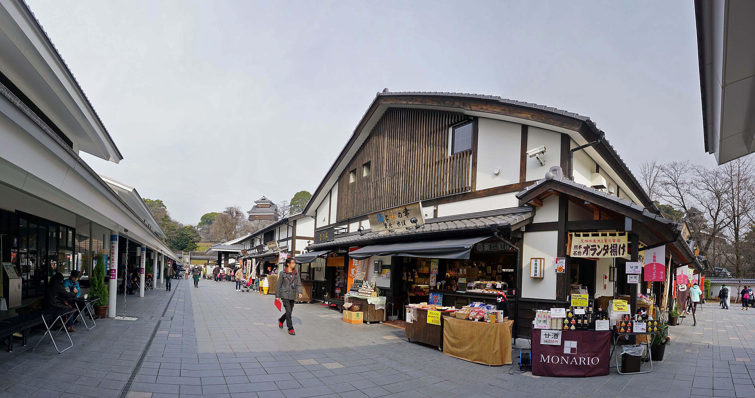 『桜の馬場・城彩苑』は熊本城ふもとの観光施設!ランチや食べ歩きがおすすめ!