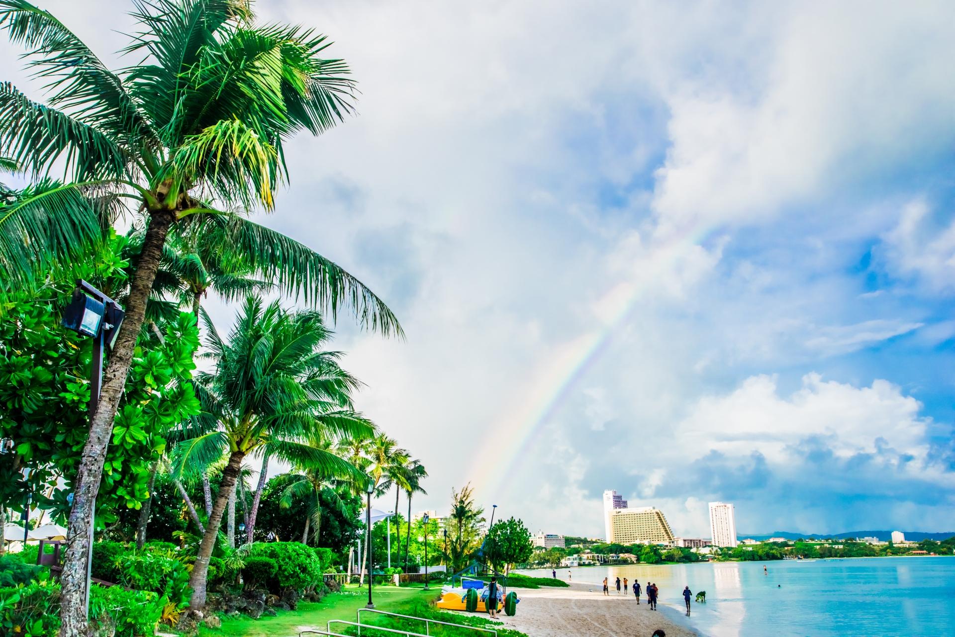 グアムの雨季はいつ?おすすめの過ごし方や雨でも楽しめるスポットまとめ!