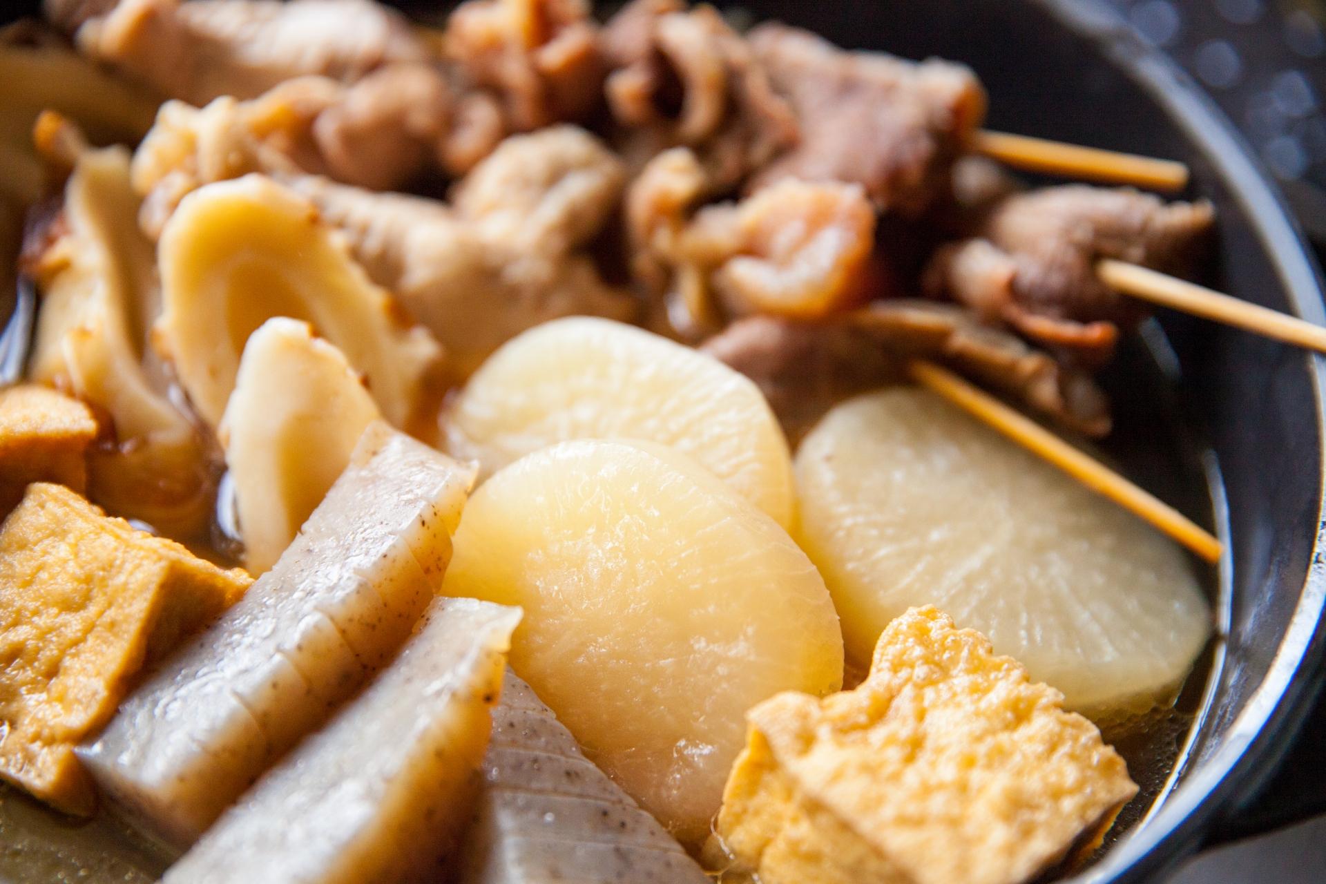 花くじらは大阪福島のおでんの名店!並んででも食べたい人気メニューは?
