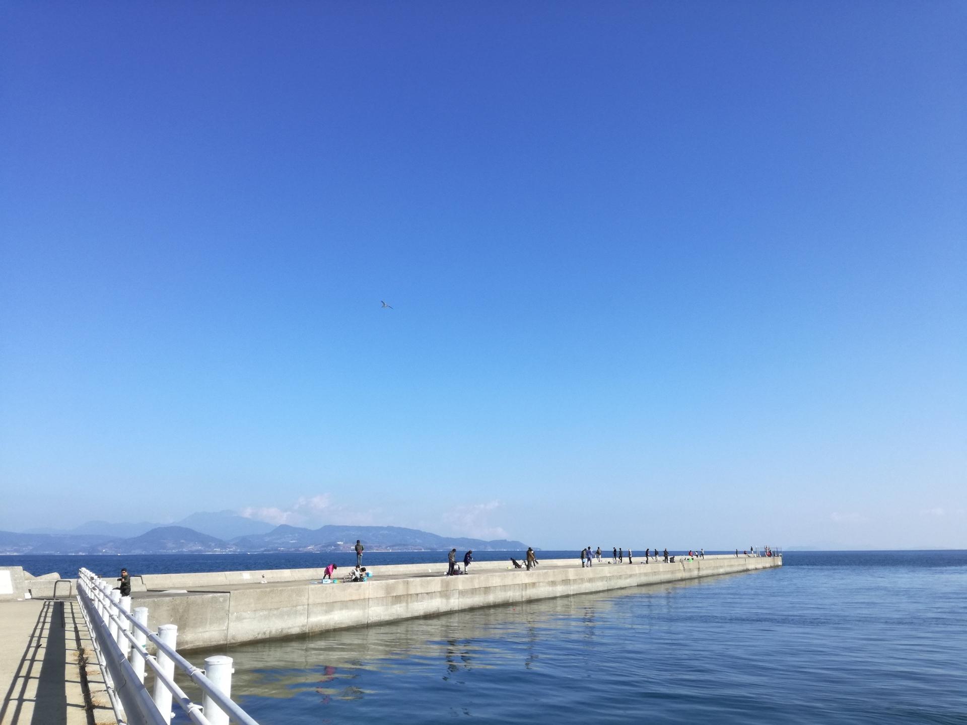 貝塚人工島は大阪の人気釣りスポット!おすすめの仕掛けや穴釣りのコツを伝授!