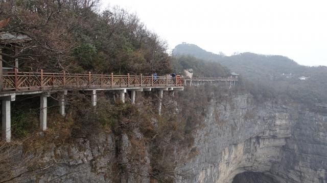 天門山はスカイウォーク・ロープウェイが魅力の人気スポット!行き方もご紹介!