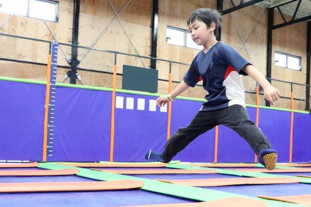 トランポリンを名古屋で体験!安い施設や子供に人気のスポットまとめ!