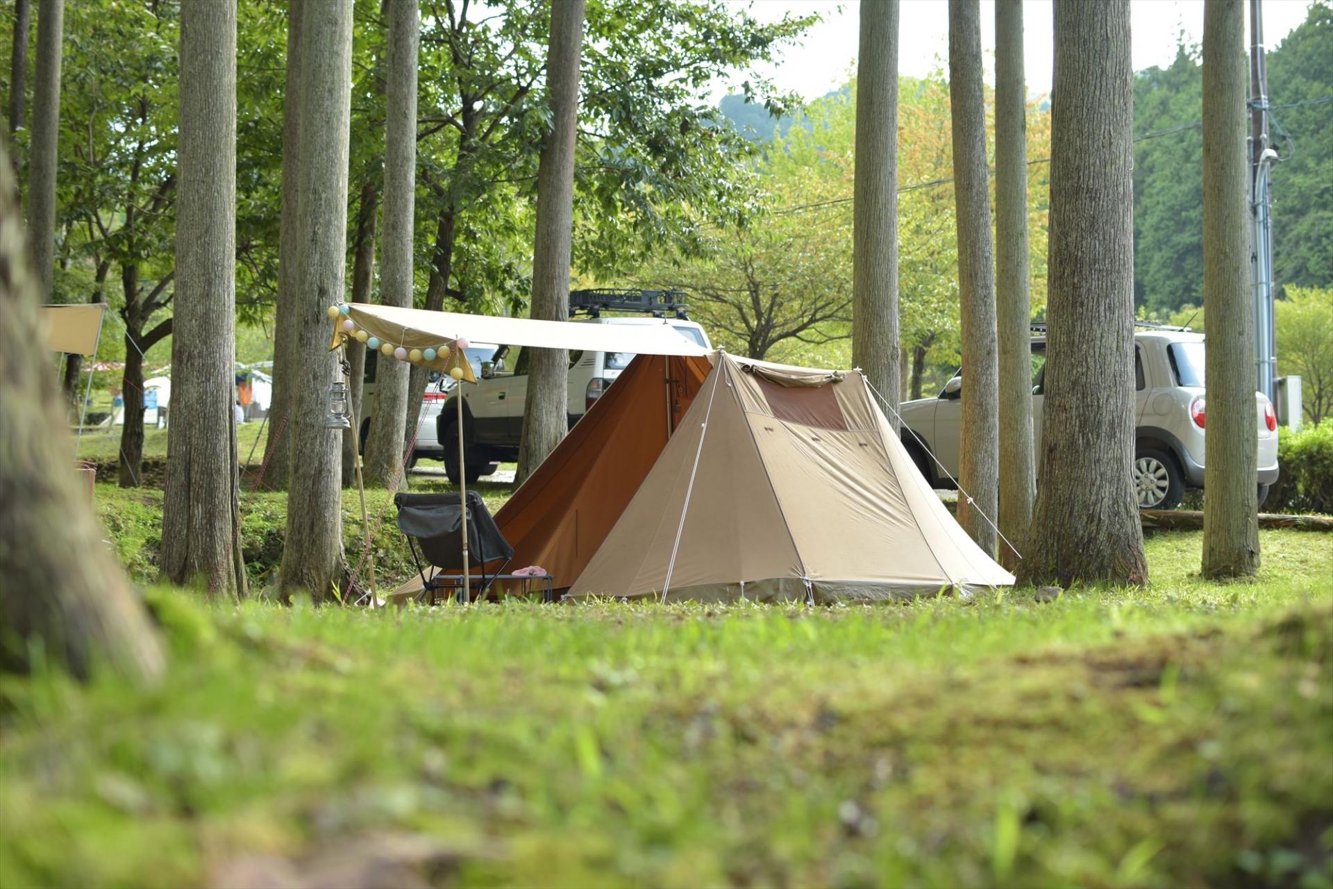 仲洞爺キャンプ場で北海道の自然を満喫しよう!温泉など場内の設備も充実!