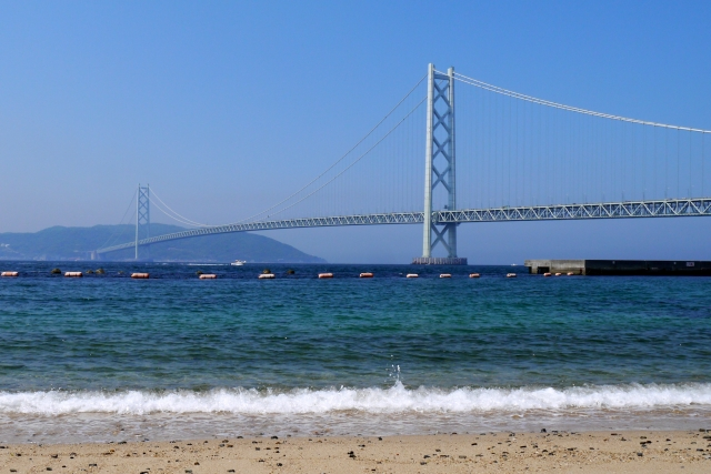 慶野松原海水浴場はキャンプもできる人気スポット!花火も楽しめる!