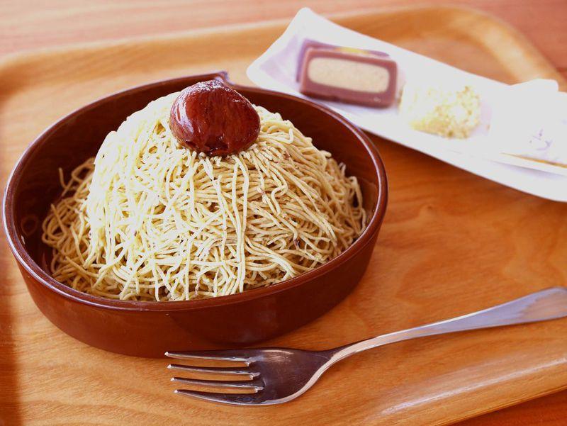 恵那川上屋のモンブラン「栗一筋」とは?期間限定の逸品をカフェで味わおう!