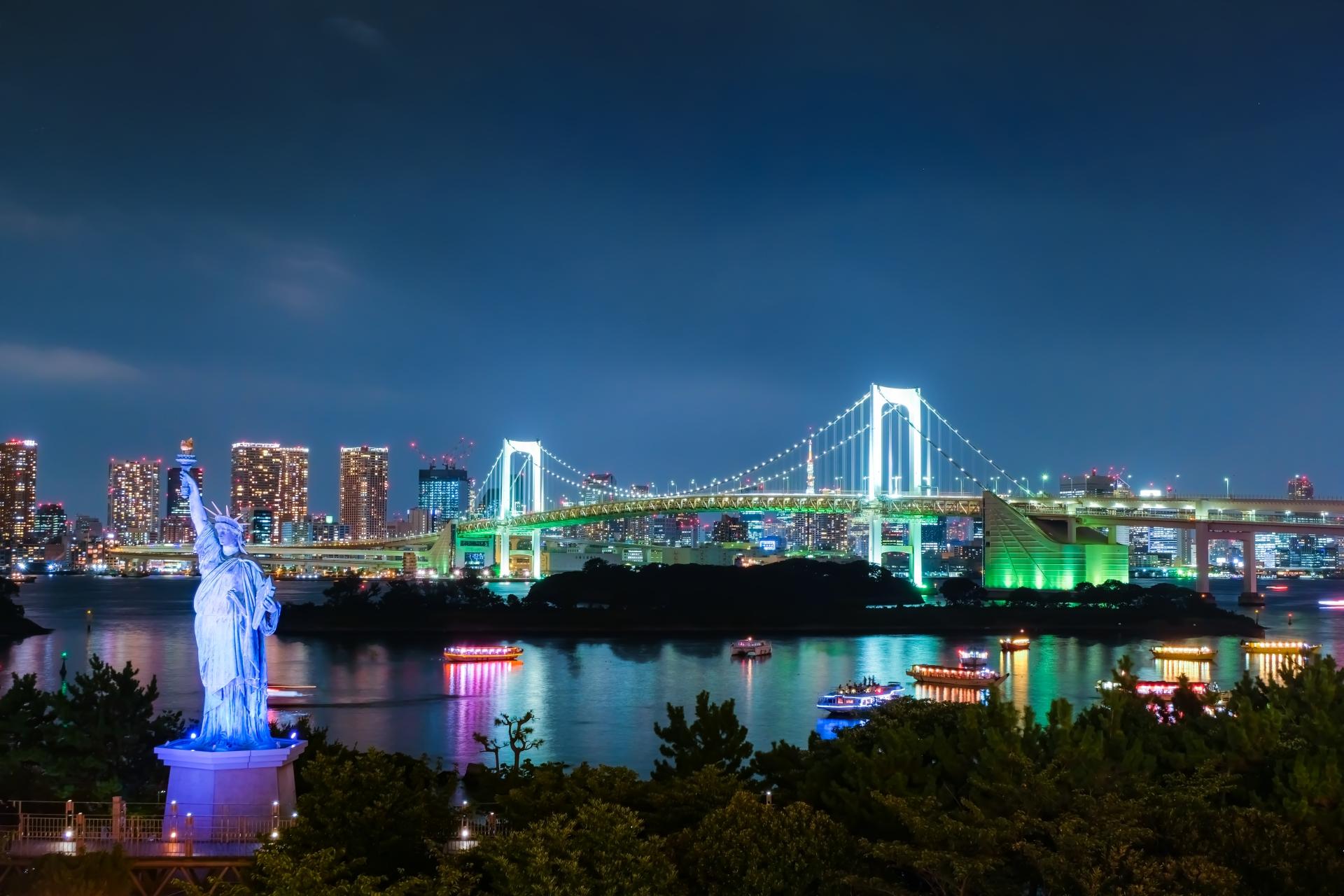 東京の夜デートおすすめスポット25選!仕事帰りに楽しめる人気の場所をご紹介!